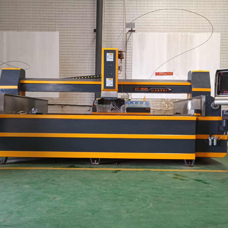 NEW!!AC 5 axis waterjet CNC cutting machine for sintered slabs