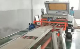 Tile cutting edging line